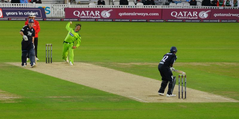 Shoaib at the Oval 1